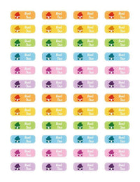 Rent Due Printable Planner Stickers - The Digital Download Shop