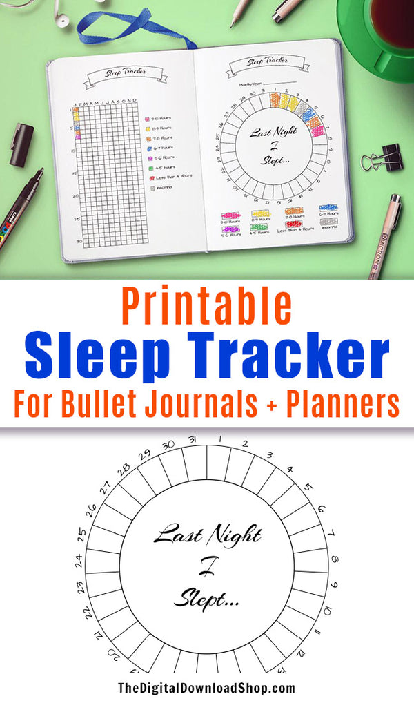 It is a picture of Slobbery Sleep Tracker Printable
