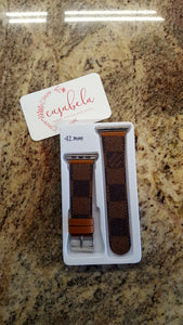 LV Apple Watch Band