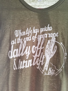 Dally off tee