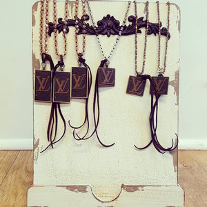 LV Repurposed Necklace