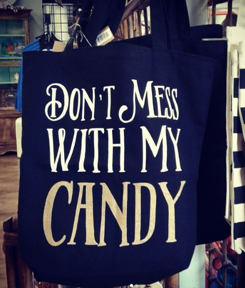 Don't Mess Candy Tote