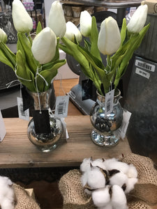Real Touch Mini Tulips