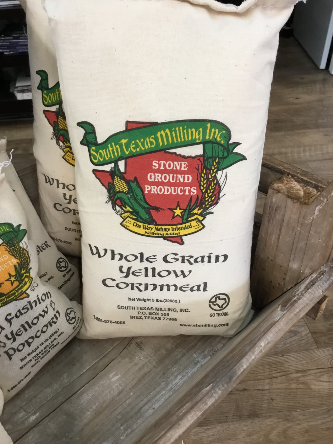 Yellow Cornmeal 5LBS