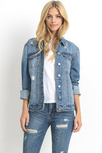 Dark Wash Jean Jacket