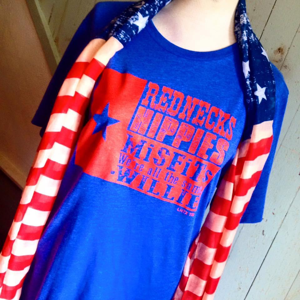 Rednecks, Hippies, and Misfits Tee