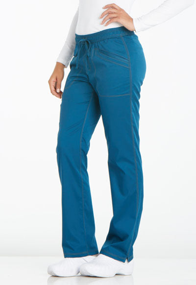 "Pantalon Cargo coutures apparentes ""CARIBEAN BLUE"""