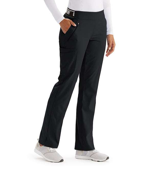 "Pantalon stretch GREY'S ANATOMY  ""Black"""