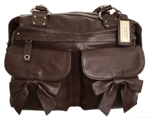 Madison Brown Leather Camera Bag - Mothers Day  SALE 50% OFF