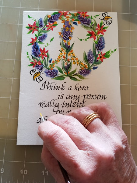 About Cuqui's Artisan Greeting Cards