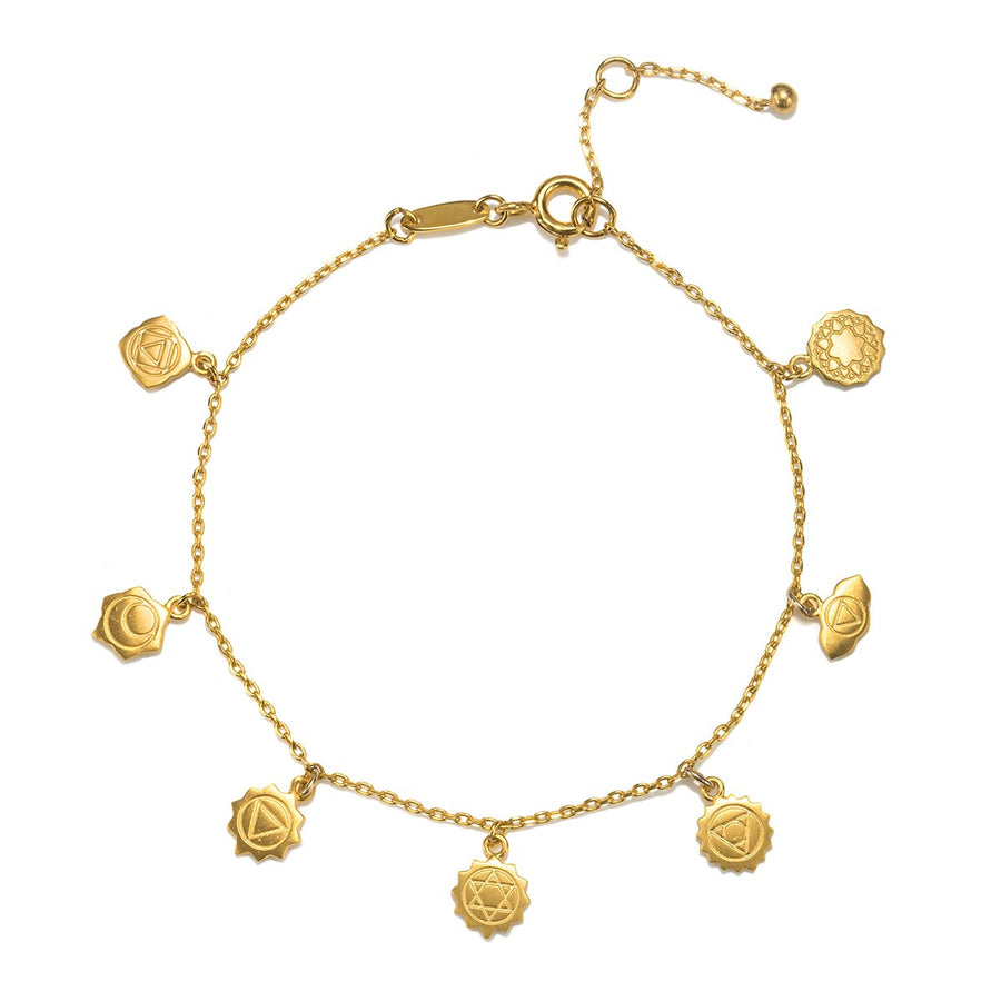 Aligned in Harmony Gold Bracelet