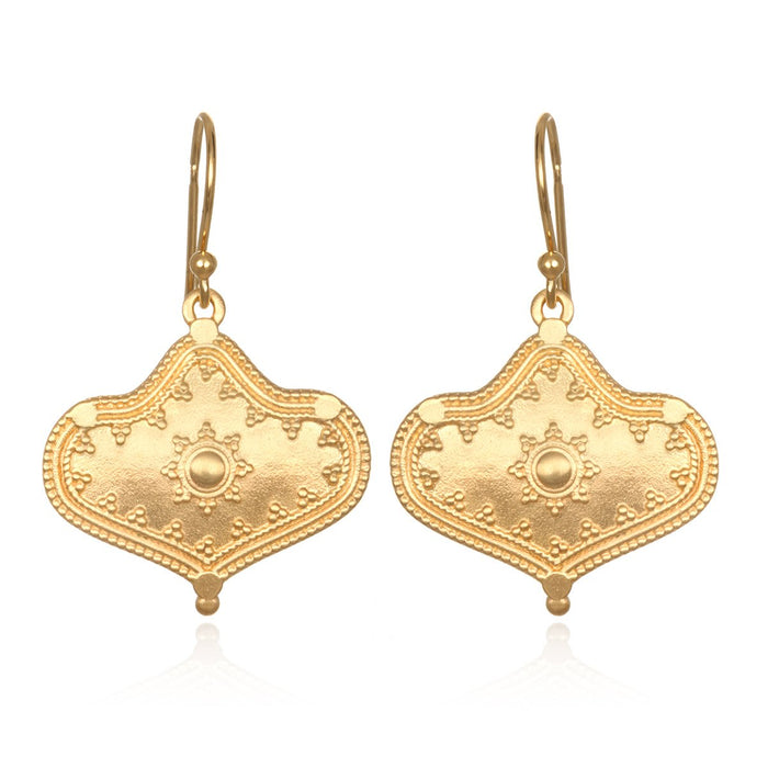 Divine Details Golden Earrings