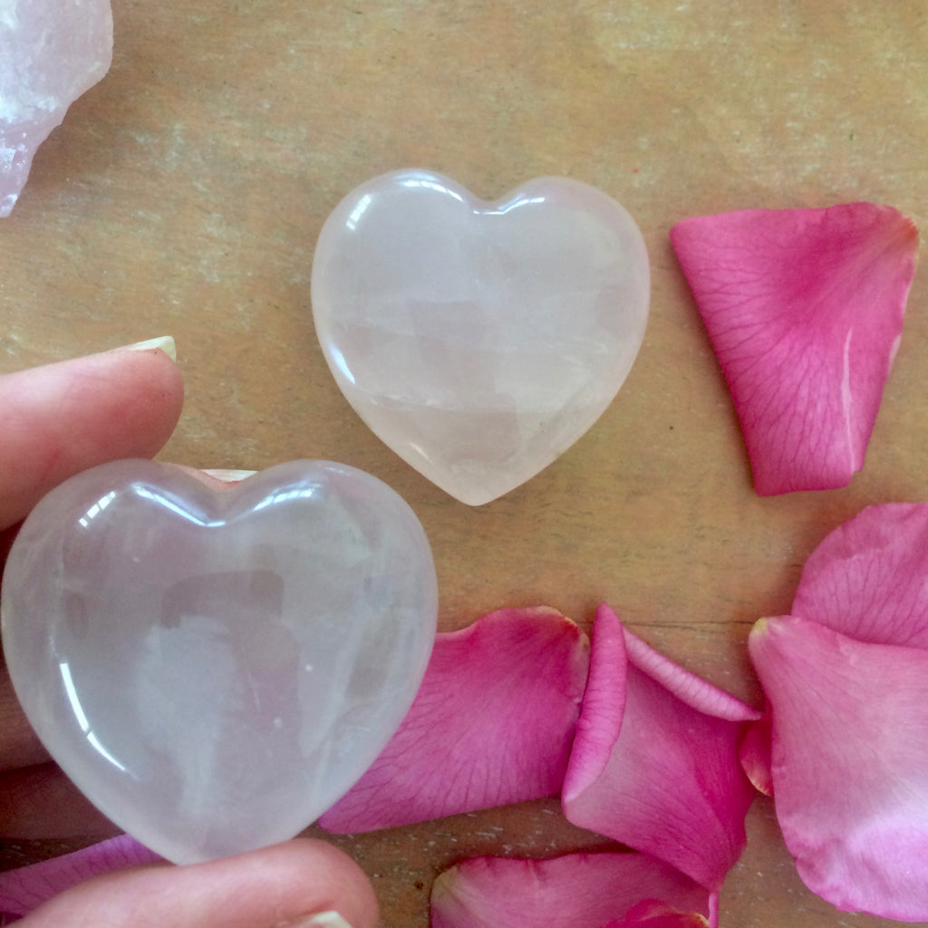 Little Lovelies - Rose Quartz Hearts