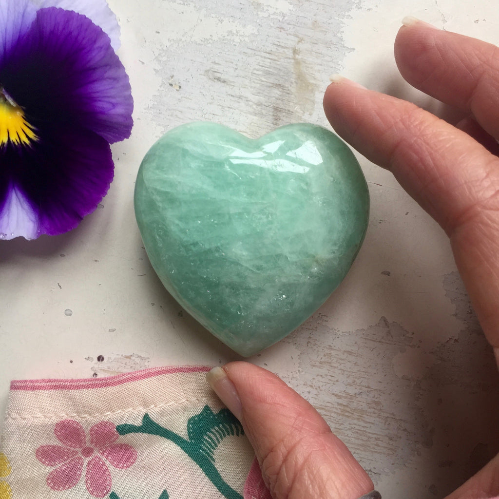 Aquamarine Love Heart