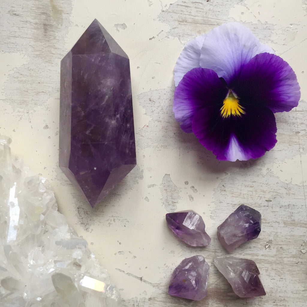 Ametrine Double Point