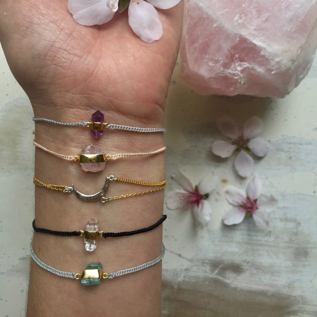 Morganite Blessing Bracelet