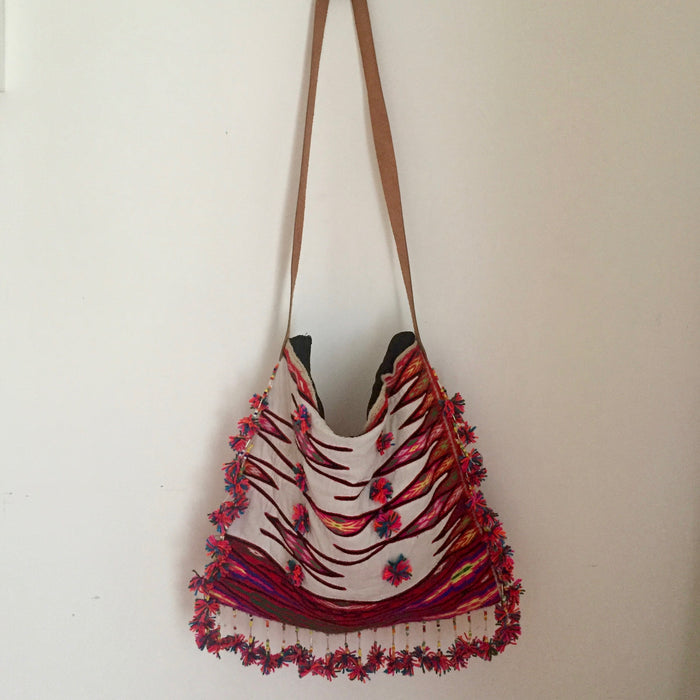 Soft Hand Embroidered Bag
