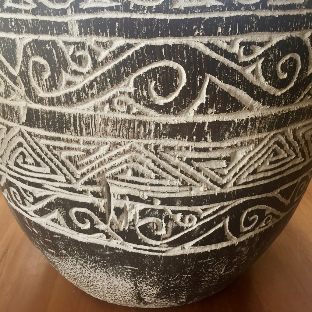 Handcarved Balinese  Drum