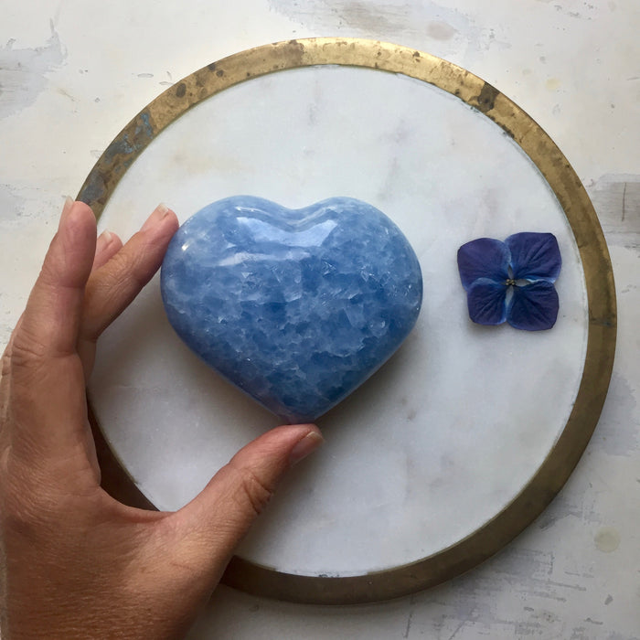 Blue Calcite Love