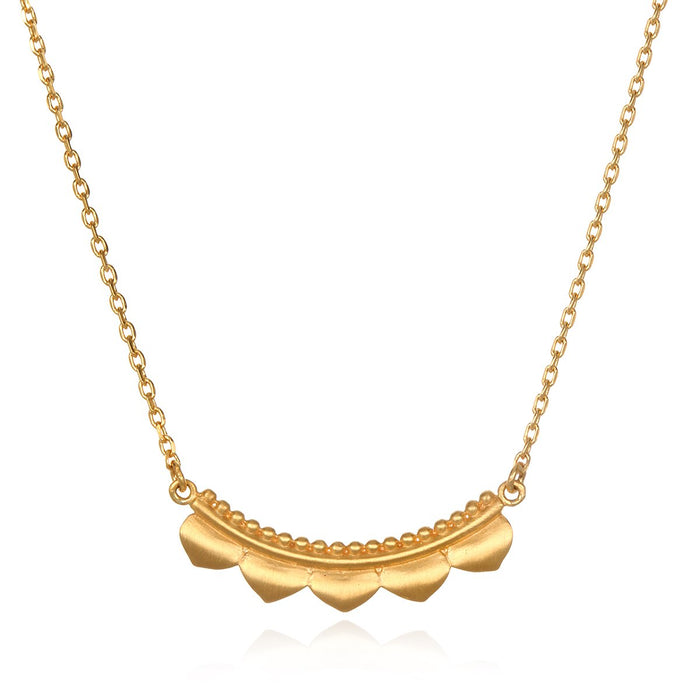 Embark on the Journey Gold  Necklace