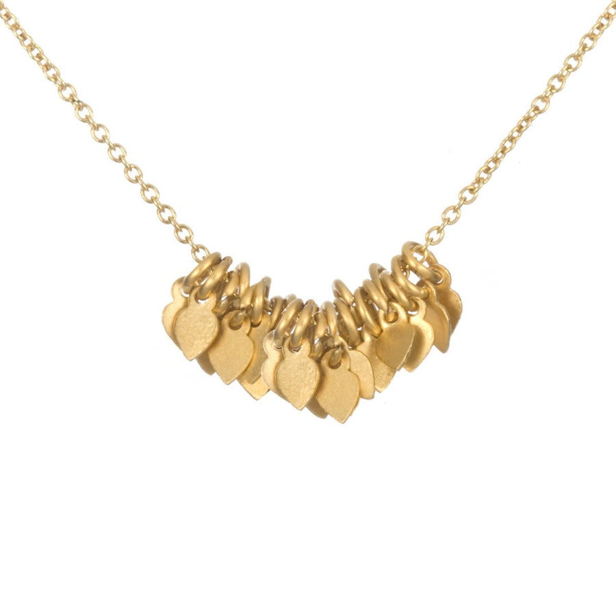 Gold Veils - Petals Necklace