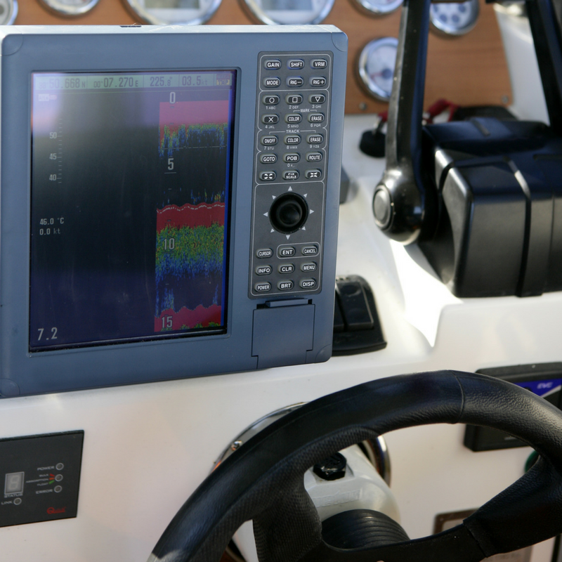 Electronic Navigation - Sailboat