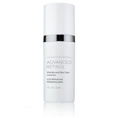Wrinkle and skin tone correcting serum with retinol