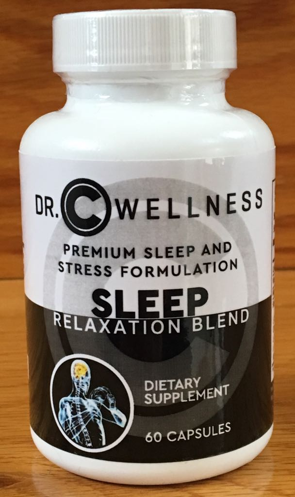 NATURAL SLEEP AND RELAXATION BLEND with Valerian Root, Melatonin,  L-Tryptophan , St-John's Wart, Ashwagandha, 5-HTP, Inositol, Chemomile -