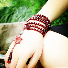 Tibetan Meditation Wooden Rosary Beaded Bracelets