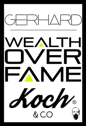WEALTH OVER FAME