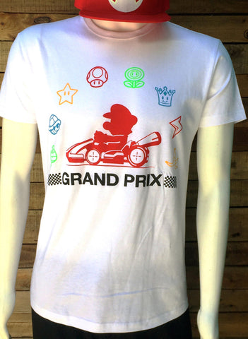 T-SHIRT GRAND PRIX WHITE