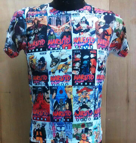 T-SHIRT NARU COMIC