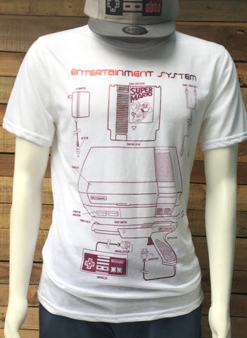 T-SHIRT ENTERTAINMENT SYSTEM WHITE