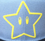 GORRA STAR GREY/BLACK