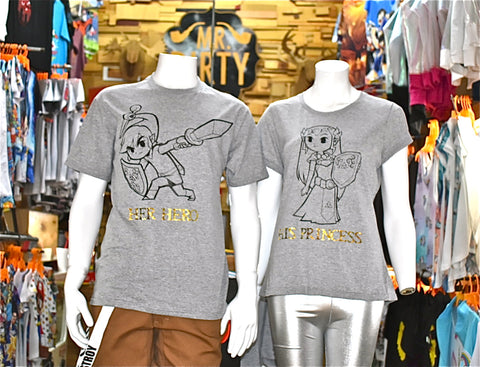 T-SHIRT DUENDE+PRINCESS COUPLE