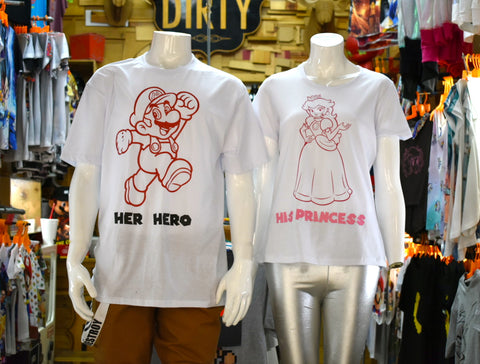 T-SHIRT BIGOTÓN+PRINCESS COUPLE