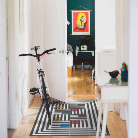 Hidraulik vinyl floor mats rugs and runners Casanova design