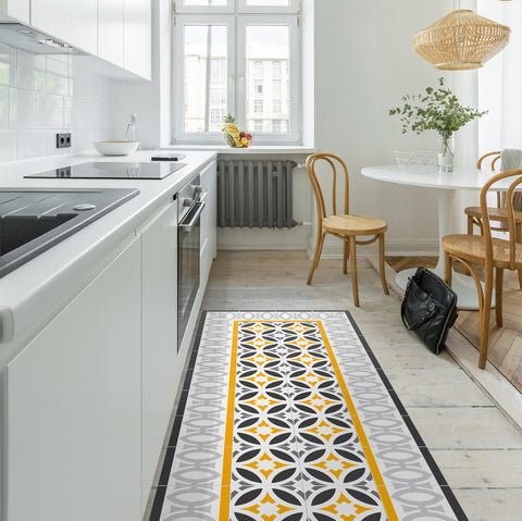 Hidraulik vinyl floor mats rugs and runners Letamendi design