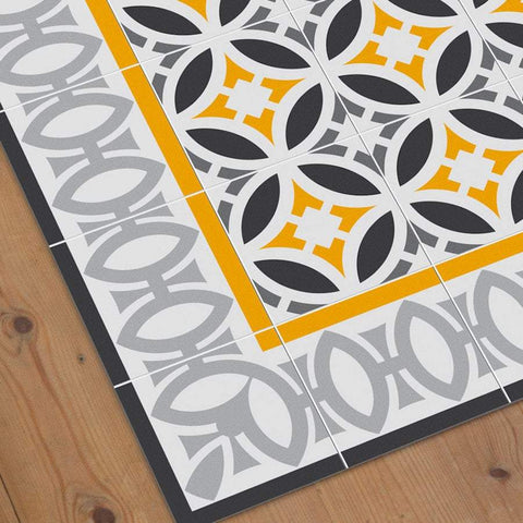 Hidraulik floor mat doorway runner rug Letamendi swatch