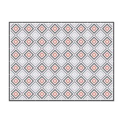 Hidraulik Verdi rectangular vinyl placemat washable