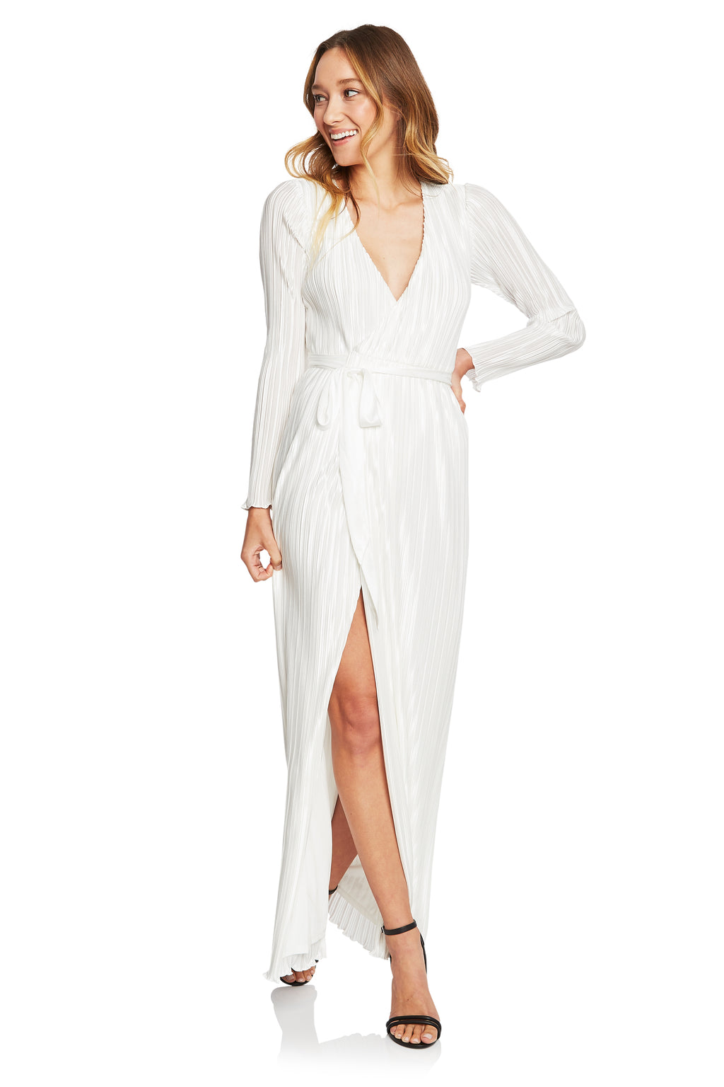 The Jetset Diaries Aster Wrap Maxi Dress