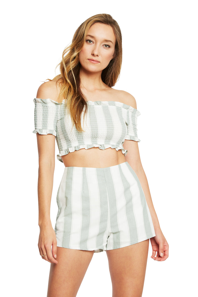 Fifth Label Poetic Stripe Short