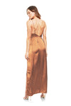 About Us Lorie Slit Maxi Dress