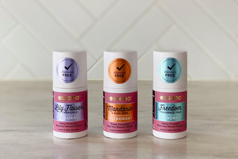essano natural deodorants