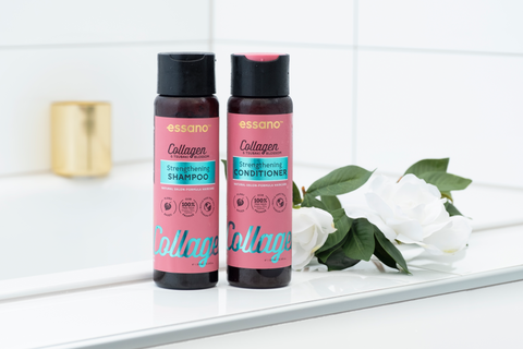 essano collagen tsubaki blossom shampoo and conditioner