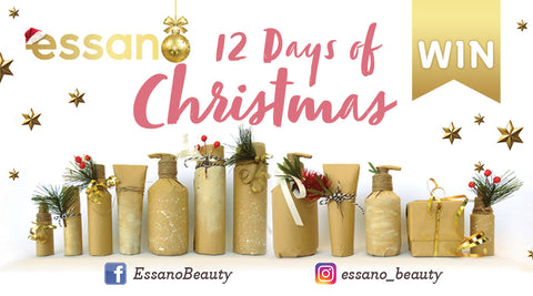 essano's 12 Days of Christmas giveaways