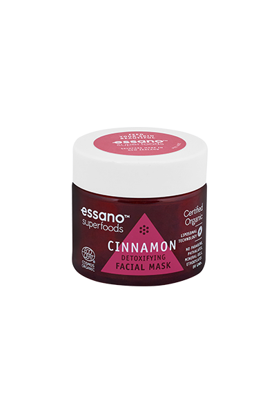 Superfoods Certified Organic Cinnamon Detoxifying Mask