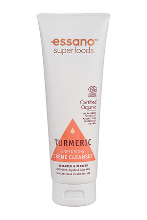 Superfoods Certified Organic Turmeric Creme Cleanser