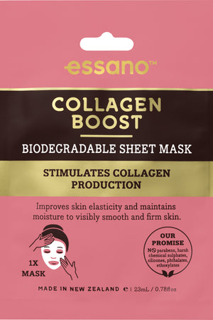 Collagen Boost Biodegradable Sheet Mask