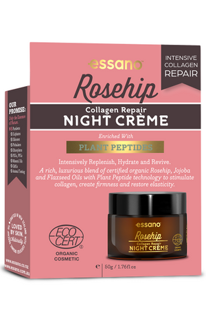 Certified Organic Collagen Repair Night Creme